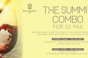 A Day For Love: Special Combo Offer for Couples @ Pan Pacific Hanoi
