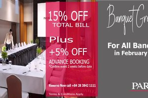 Banquet Great Discount @ PARKROYAL Saigon