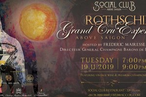 Rothschild Grand Cru Experience @ Social Club Restaurant