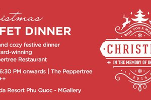 Christmas Buffet Dinner - In The Memory of Indochine @ La Veranda Resort Phu Quoc