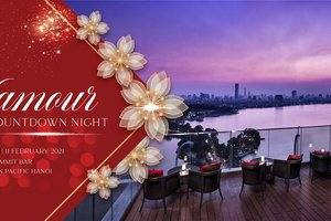 Glamour Countdown Night @ Pan Pacific Hanoi - Ring in New Year of the Ox 2021