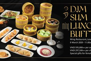 Dim Sum Buffet Lunch on Women's Day @ Pan Pacific Hanoi