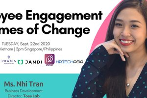Employee Engagement in times of Change @ UpUp App