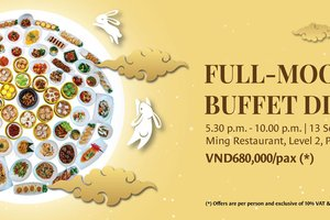 Full-Moon Buffet Dinner @ Pan Pacific Hanoi