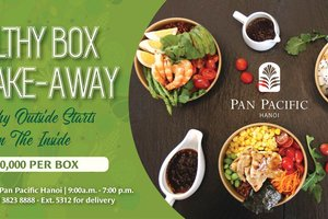 Healthy Box for Take-Away & Delivery @ Pan Pacific Hanoi
