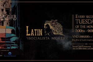 Latin Socialista Night @ Social Club Restaurant