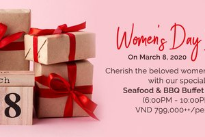 Women's Day Buffet Dinner @ PARKROYAL Saigon