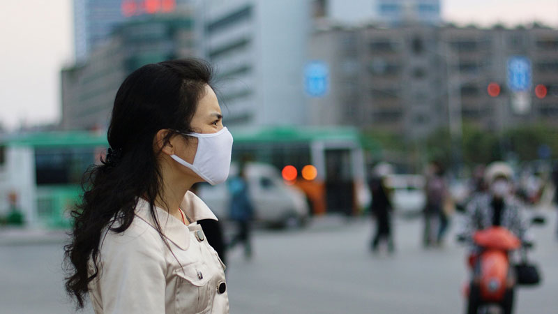 Pollution-mask