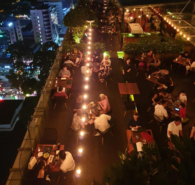 christmas and new year in SaiGon