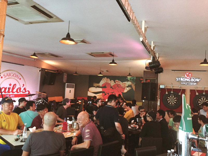 Best Places to Play Pool and Darts in Saigon