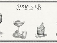 Revisit London's Glam 1920s Cocktail Culture at Social Club Saigon