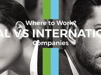 Where to Work?: Local Vs. International Companies
