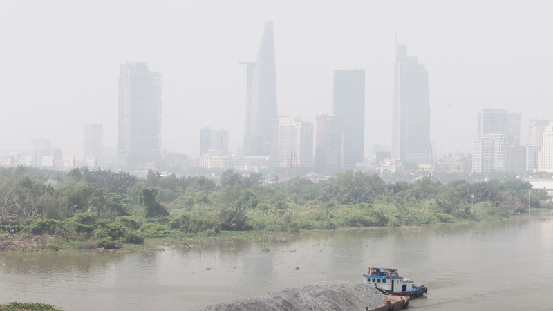 Pollution in Saigon