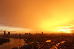 5 of The Best Views of Ho Chi Minh City As The Sun Goes Down