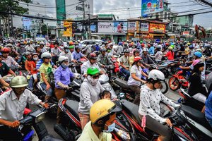 Saigon's Wild Streets: A Driver's Perspective