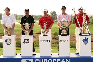The Four Golf Major Championships