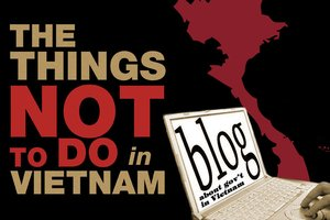 Things not to do in Vietnam