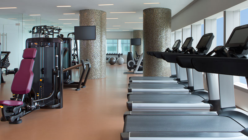 Fitness Centre at le Meridien Saigon